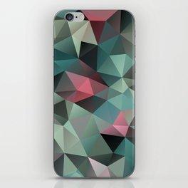 Polygon pattern 8 iPhone Skin