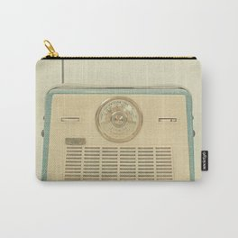 Radio Days Carry-All Pouch