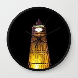 Big Ben – Paint & Poster Effect Wall Clock