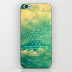 She Can Move Mountains iPhone Skin