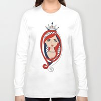 american Long Sleeve T-shirts featuring American  by Gabriela Borges