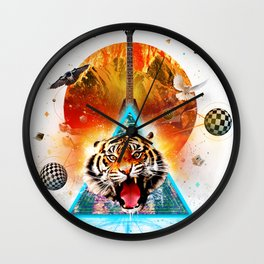 ERR-OR: Tiger Connection Wall Clock