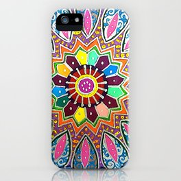 Metallic Mandala iPhone Case