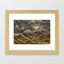 Golden Reflection 0311 Framed Art Print