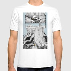 Lost Mens Fitted Tee MEDIUM White