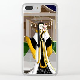 Kitsune Clear iPhone Case