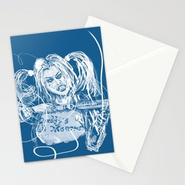 Daddy's little monster!! Stationery Cards