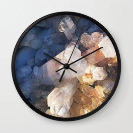 Quartz Crystal Wall Clock