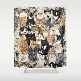 Catmina 2017 - ONE Shower Curtain