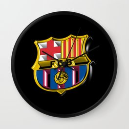 Barca Logo Great Wall Clock