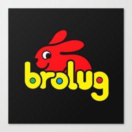 Brolug Canvas Print