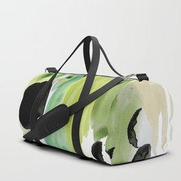 Garden Fern Abstract Duffle Bag
