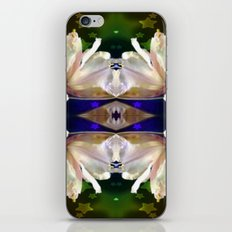 Flowers in the Starlight iPhone & iPod Skin