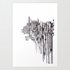 Reclaimed Art Print