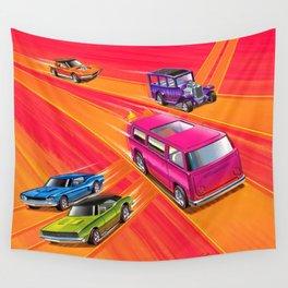 Vintage Redline Hot Wheels Sweet Sixteen Era Trade Print Poster Wall Tapestry