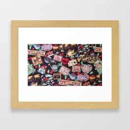 A PICTURE IS WORTH A 1000 WORDS Framed Art Print