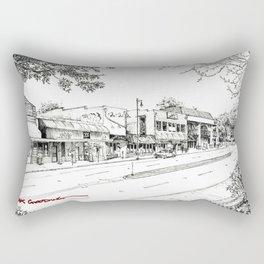 Midtown As Seen from the West Rectangular Pillow