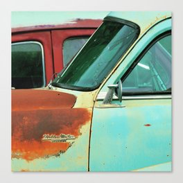 side of rust Canvas Print