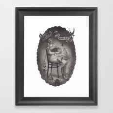 Lady Luck Framed Art Print