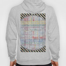 The System - line motif Hoody