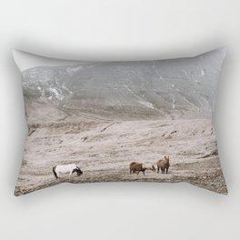 Wild Horses II Rectangular Pillow