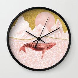 The Big Whale Wall Clock