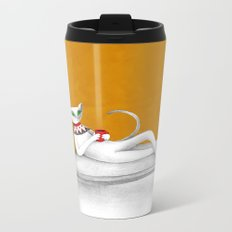 starting with a coffeebreak Metal Travel Mug