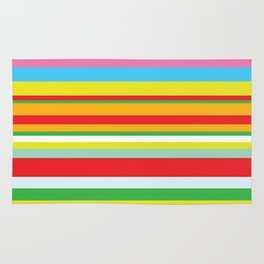 Colorful stripes Rug