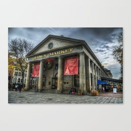 Quincy Market Canvas Print