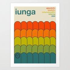 iunga single hop Art Print