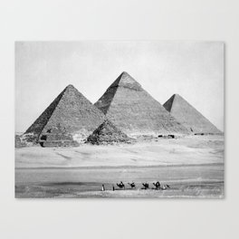 Pyramids of Gizeh Canvas Print