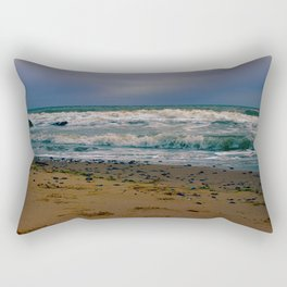 Norfolk waves Rectangular Pillow
