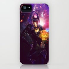 Tali'Zorah vas Normandy (Mass Effect) Art iPhone (5, 5s) Slim Case