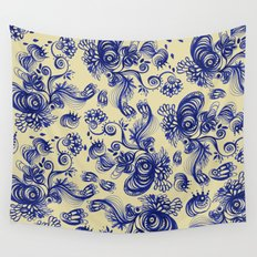 Ultramarine Wall Tapestry