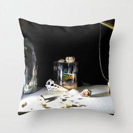 Vanitas I Throw Pillow