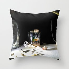 Vanitas I Throw Pillow
