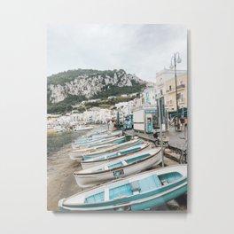 Capri Shoreline Metal Print