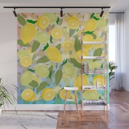 Lemon Song Wall Mural