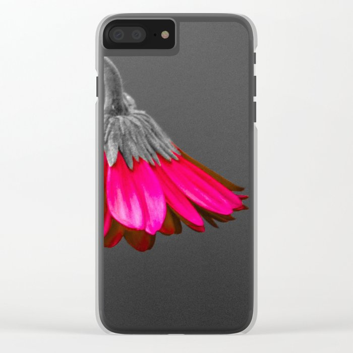 Flower | Flowers | Melancholia | Drooping Flower Clear iPhone Case