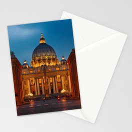Papal Basilica of St. Peter in the Vatican Stationery Cards