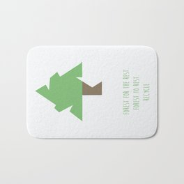 Forest for the rest. Forest to rest. Recycle. vol.2 Bath Mat