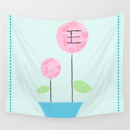 Flower E Wall Tapestry