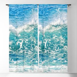 Kashmir Blue Sapphire Blackout Curtain