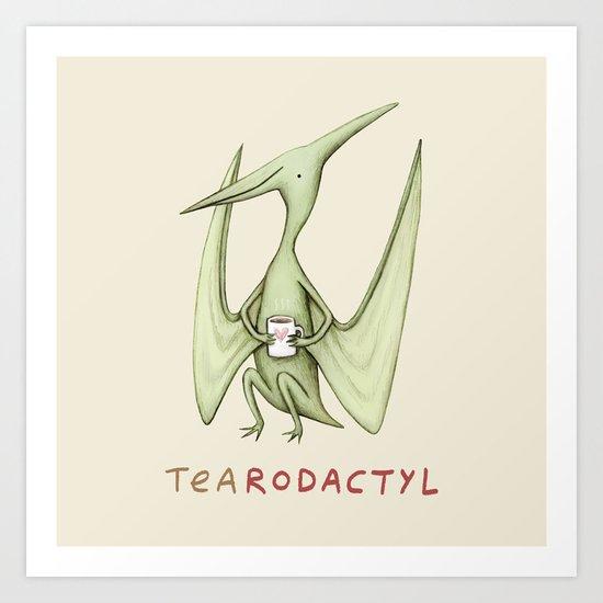 Tearodactyl Art Print