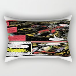 Page # 2 of Tex Watt's  (UNCENSORED) SUNDAY COMIX POP-ART! Rectangular Pillow