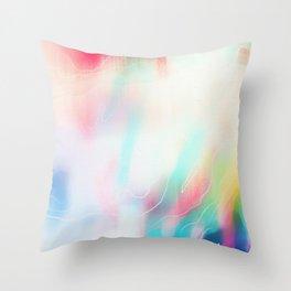 colour wave Throw Pillow