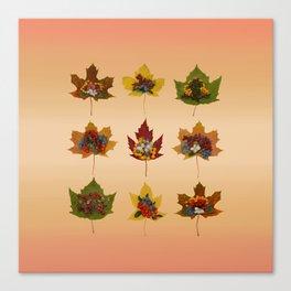 "Autumn ""tapas"" Canvas Print"