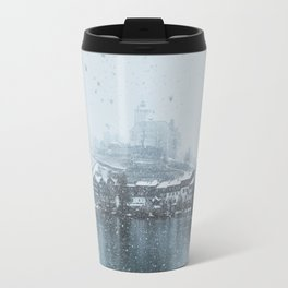 Snowy Castle Travel Mug