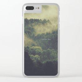 Que Sera, Sera Clear iPhone Case