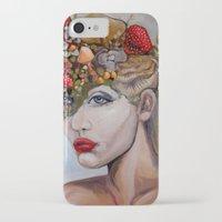 alice wonderland iPhone & iPod Cases featuring Wonderland by HeatherIRELANDArtz